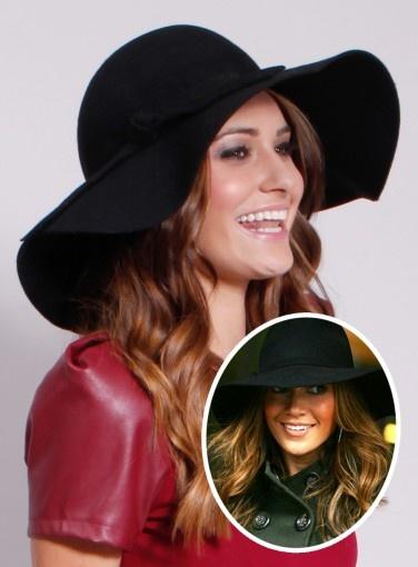 Floppy Hat in the style of Jennifer Lopez