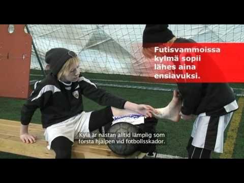 Pallo liikkeelle - Nilkan ensiapu - YouTube