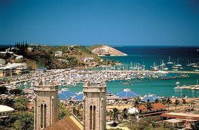 Noumea, New Caledonia.  I'll be honest though, I wasn't a huge fan of Noumea.