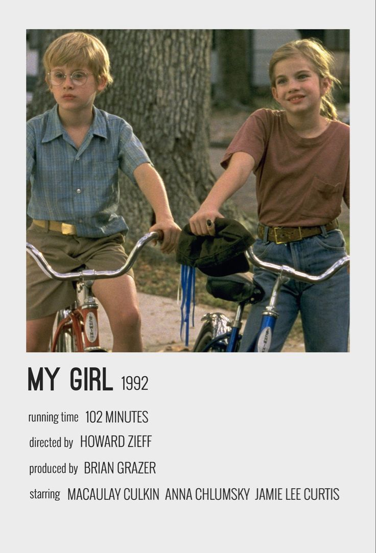 my girl movie poster in 2020 movie poster wall film on poster my wall id=55626