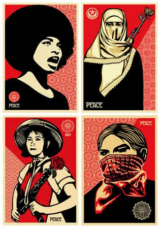 Happy (day early) International Women's Day! #IWD #feminism (isn't this art gorgeous??)
