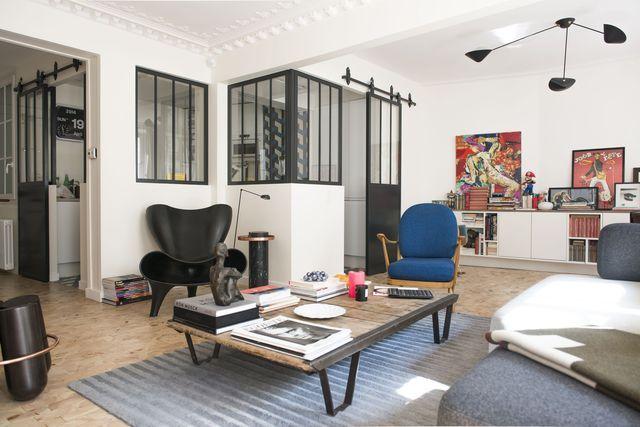 Les architectes de Cocottes Studio ont relevé un pari un peu fou : réunir deux appartements en un seul !