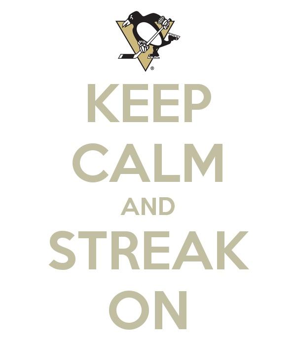 Pittsburg Penguins hockey!