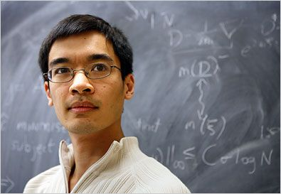 Scientist at Work - Terence Tao - Journeys to the Distant Fields of Prime - The New York Times