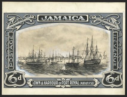 royal stamp collection britain  | Jamaican businessman's rare stamp error brings $22,000 in New York