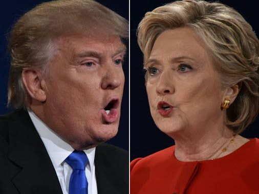 TRUMP V CLINTON Who is winning the US Election 2016 – latest polls and odds as the results roll in for Clinton vs Trump