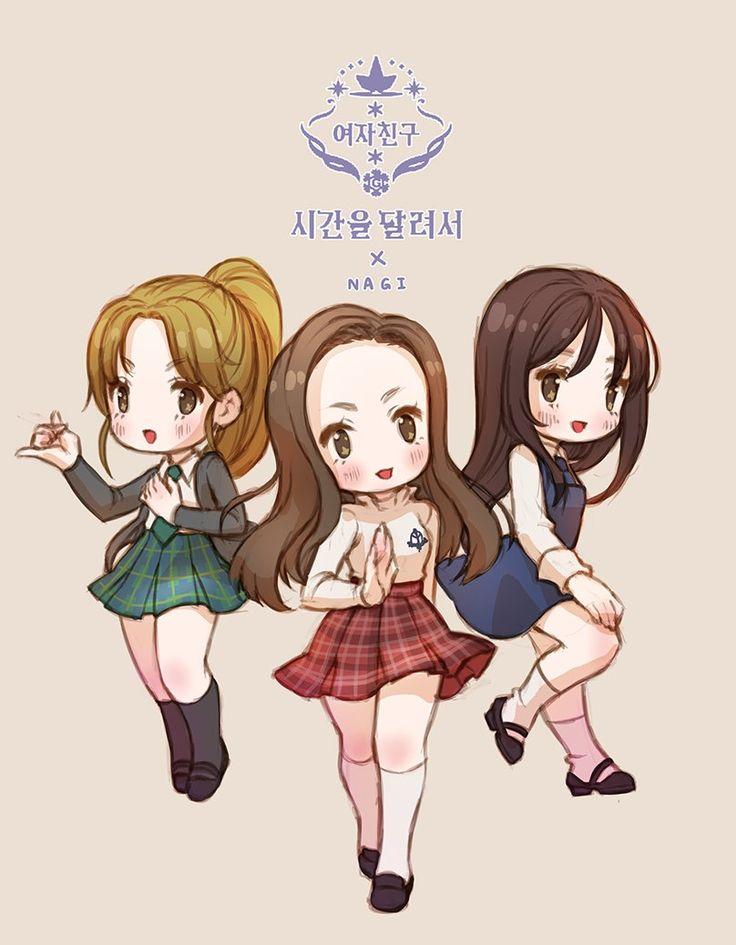 GFRIEND fan art by Nagi