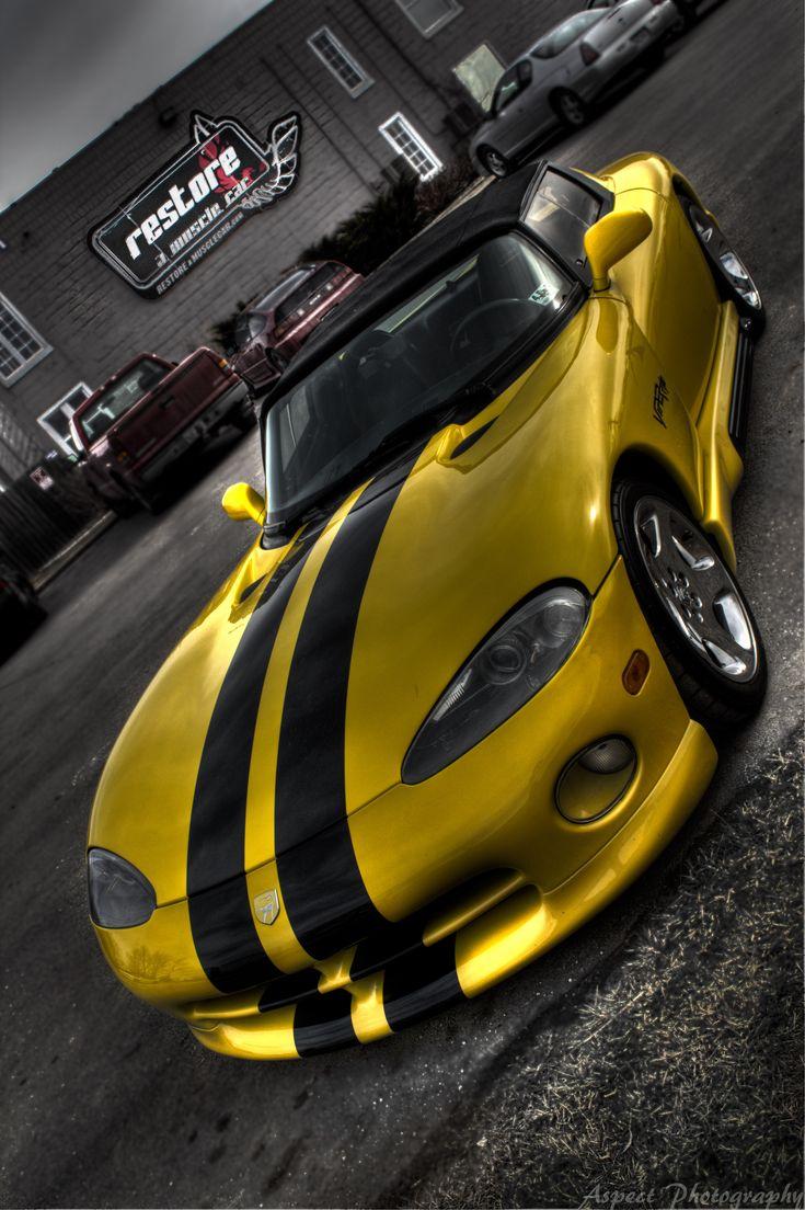 Beautiful dodge viper via cars cars sport cars