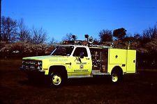 Sussex County, NJ Fire Academy - 1982 Chevrolet Saulsbury Mini-Attack Pumper.