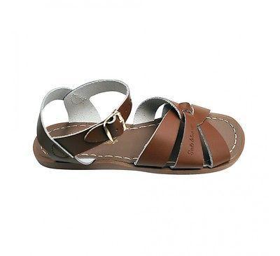 Sun-san eau salée 885 en cuir marron clair in Clothes, Shoes & Accessories, Women's Shoes, Sandals & Beach Shoes | eBay