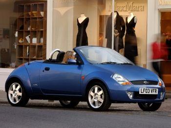Ford StreetKa UK-spec '2003–05