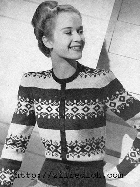 420 best Vintage knitting and crochet images on Pinterest ...