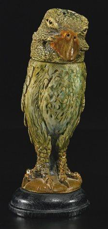 BIRD JAR 1903 by Martin Brothers