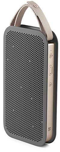B&O PLAY by Bang & Olufsen Beoplay A2 Active Portable Bluetooth Speaker, Charcoal Sand  http://topcellulardeals.com/product/bo-play-by-bang-olufsen-beoplay-a2-active-portable-bluetooth-speaker-charcoal-sand-2/  Driver: [Class D amplifiers] 2 x 30 watts, [full-range drivers] 2 x 3 in, [tweeters] 2 x 3/4 in, [passive bass radiators] 2 x 3 in Frequency Response: 55 Hz – 20,000 Hz Input: Bluetooth 4.0 (wireless streaming), 3.5mm line-in cable