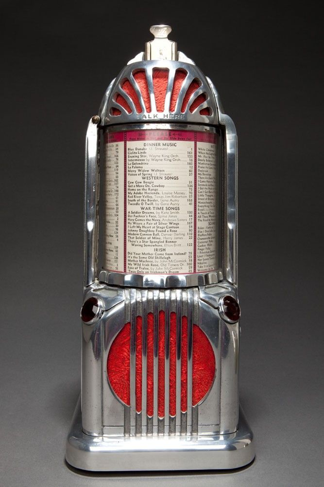 Art Deco Shyvers Multiphone Jukebox Selector - Incredible Skyscraper Design. @designerwallace