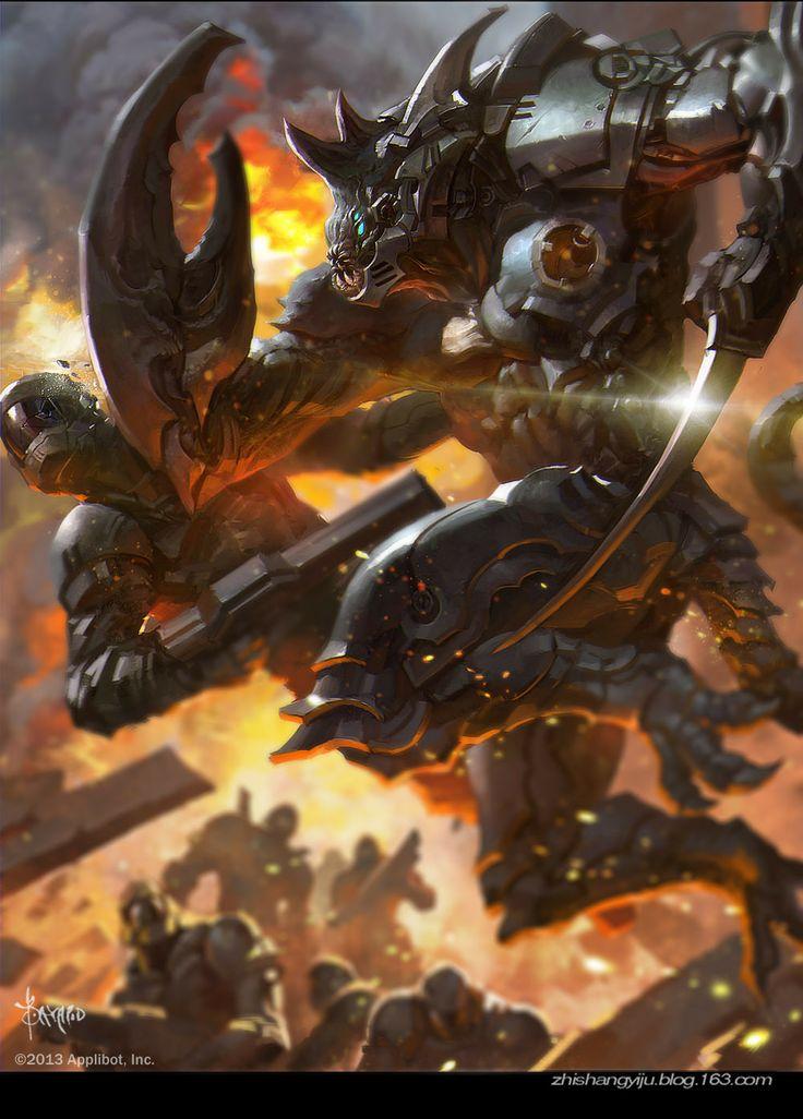 Artist: Bayard Wu aka bayardwu - Title: alien 2 - Card: Unknown