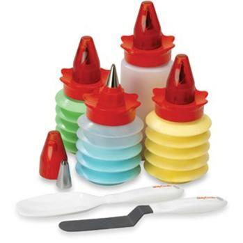 B.Crocker Cake/Cupcake Decorating Kit Set/11 Multi Colour   Kitchen Stuff Plus