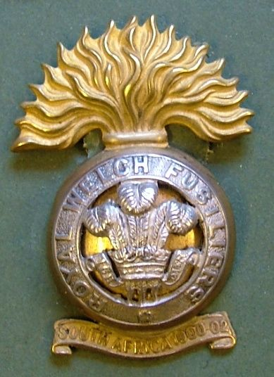 OSD Silver and Guilt Badge c1905.