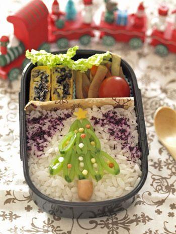 Christmas Tree bento