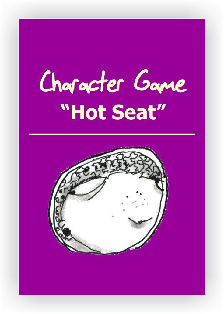 FREE DRAMA GAME~Hot Seat~ In this classic drama game, one student goes up in front of the class and assumes the role of a character or a famous person while the audience players interrogate him/her. Read more... https://www.dramanotebook.com/drama-games/hot-seat/