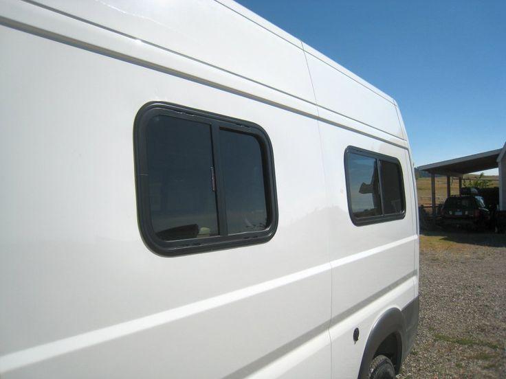 Our ProMaster DIY Camper Van Conversion Adding Windows Build A Green RV