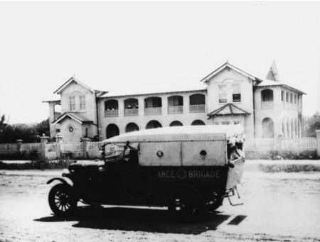 Meson Street, Gayndah, Queensland;  New convent of the Good Samaritan sisters was opened around 1920.. On September 13th, 1919, Archbishop James Duhig and Mother Mary Marcella (Sisters of the Good Samaritan Mother General) arrived in Gayndah for the opening and blessing of the new convent.