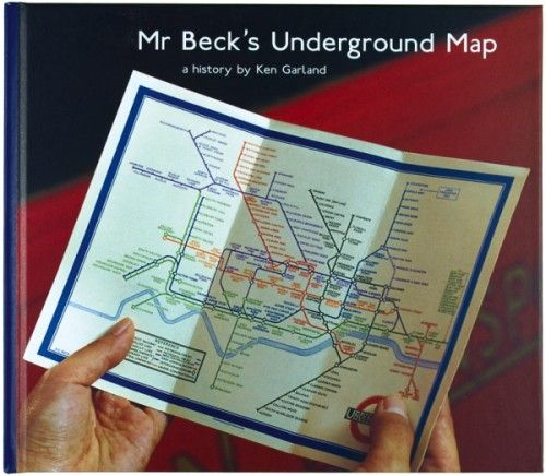 A History by Ken Garland Mr Beck's Underground Map  Book published by Capital Transport Publishing, London, 1994.