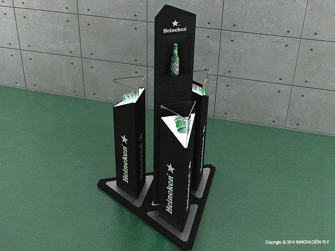 Expositor Heineken | INNOVACION PLV