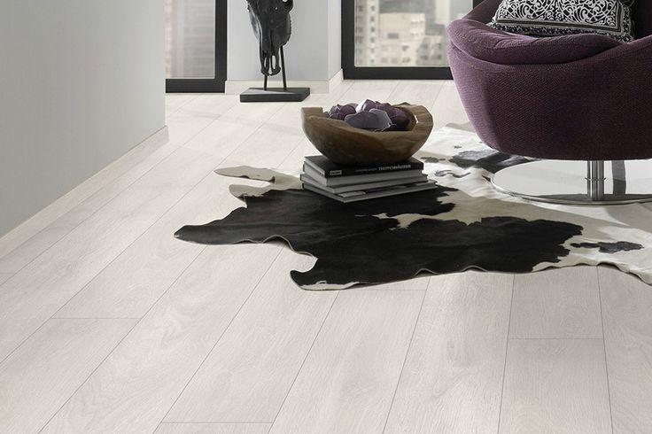 Laminat gulv 12mm White Aspen