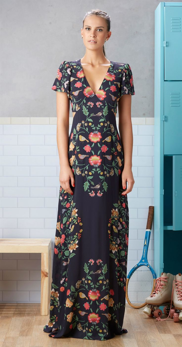 Só na Antix Store você encontra Vestido Longo Bouquet com exclusividade na internet