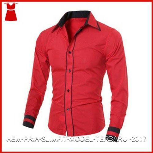 Model23smf setelan kemeja cowo kombinasi Baju Murah