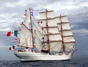 Resultado de imagen para buque escuela cuauhtémoc 2017