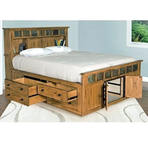 King Bed With Storage Diy California King Storage Bed Bedroom