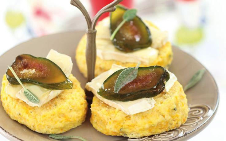 Golden Cloud butternut & sage scones