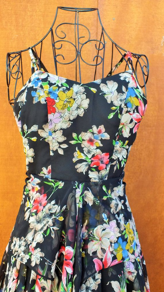 Beautiful Garden Party Dress by ParrotMoon on Etsy