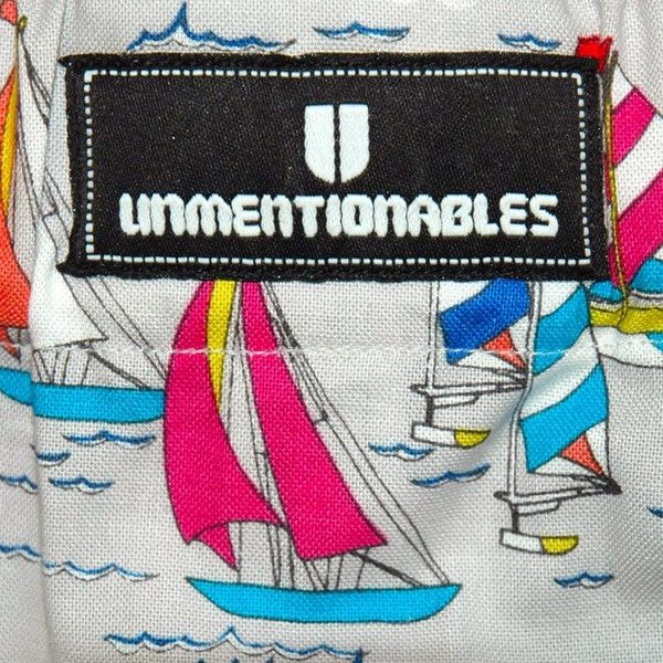 Boat Print Unmentionables Boxers available at Gunn Line. British cotton patterned boxers in three different prints. Made in England. A great present or gift. Available at www.gunnline.co.uk/collections/mens-underwear ⛵️⛵️⛵️