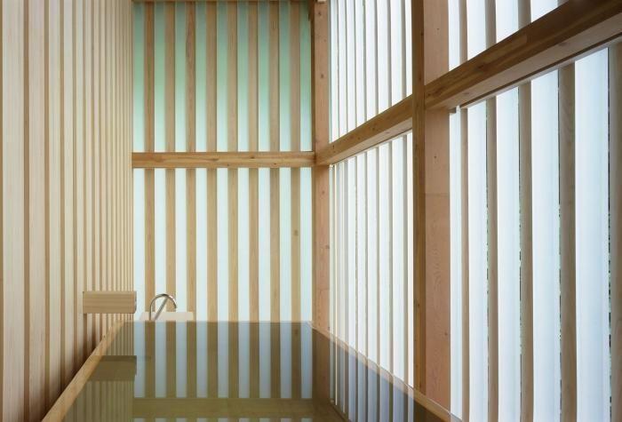 Ginzan Onsen Fujiya, Kengo Kuma.
