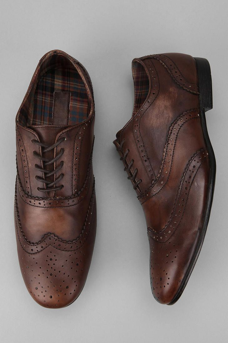 Bed Stu Ellington Wingtip Oxford $69. Unless your hunting eBay, you won't find a decent pair of wingtips for this price.