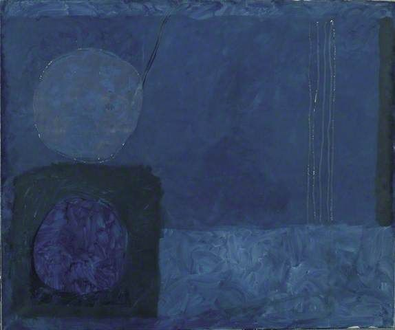 Patrick Heron 1920-1999 Study in Blue