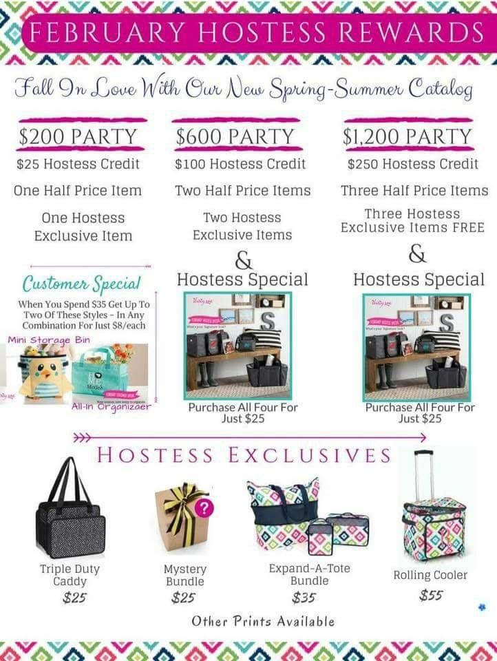 Thirty-One parties are very rewarding!