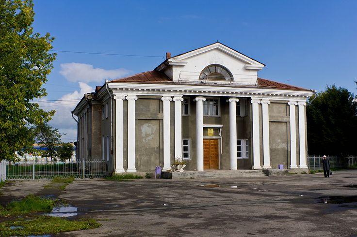 Еманжелинск, дом пионеров - Непарадный сталианс