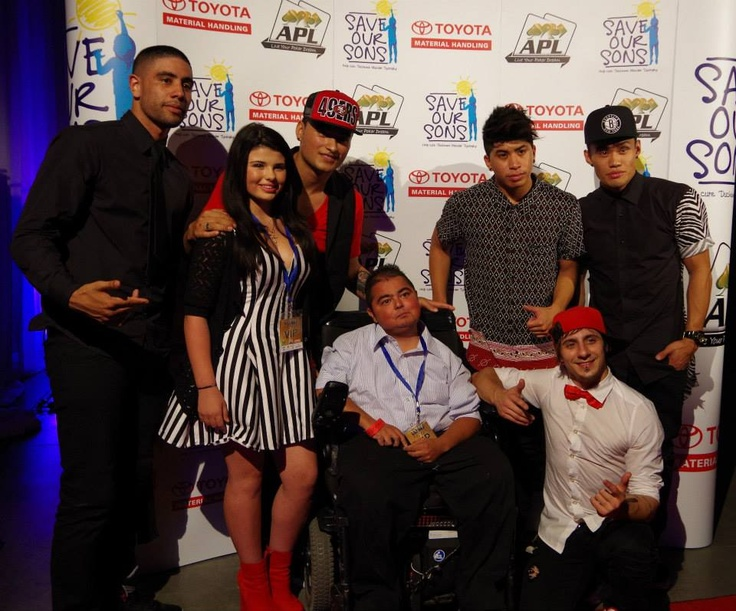 Justice Crew supporting Save Our Sons