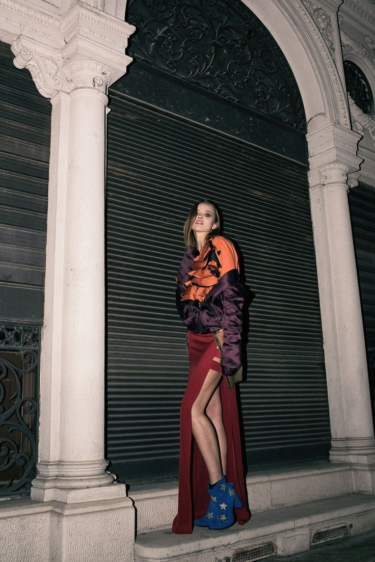 Exclusive Fashion Editorials June 2017 Anastasia Krivosheeva by Saint Yvy - Fashion Editorials