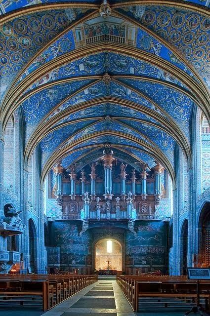 Saint Cecil Cathedral, Albi, France 観てみたいな