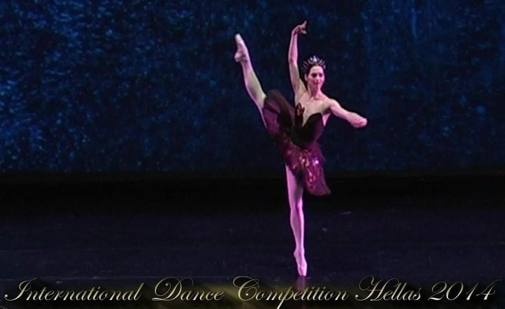 "Iulia Nepomniashchaia (Russia), ""Swan Lake - Black Swan variation"", 1st Prize in Ballet Repertory Professional women soloists. http://InDanceCom.webs.com"