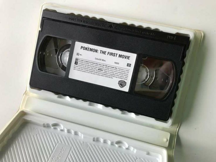 Pokemon The First Movie 2000 Vhs Video Tape Print Or