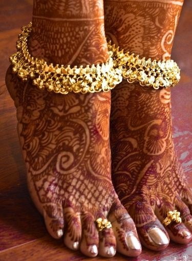 Payal and Toe Rings