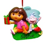 This is a great gift for dora lovers with there name on it and the year 2012.