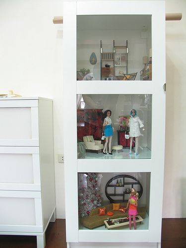 Barbie Bedroom In A Box: 135 Best Images About Barbie Diorama On Pinterest
