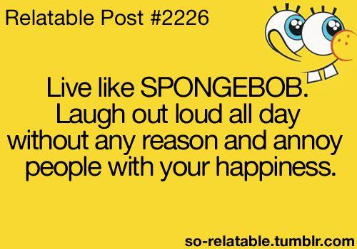 Spongebob Squarepants Quotes Funny Humor Spongebob